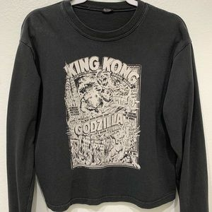 Brandy Melville-King Kong Long Sleeve